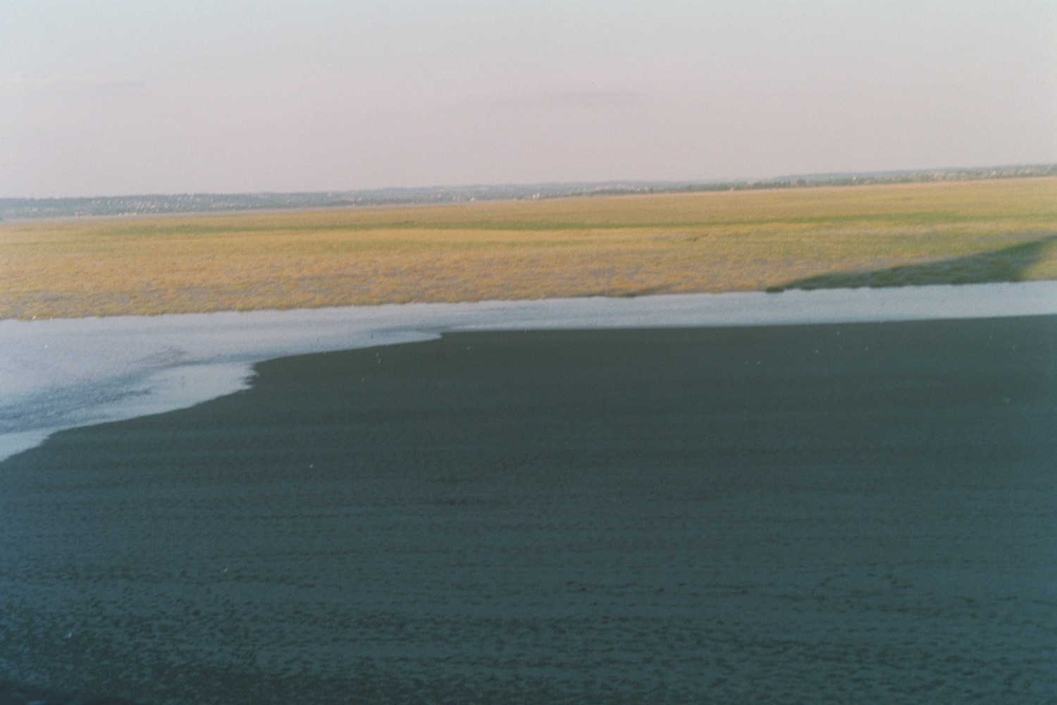 View from Mont-St-Michel by P.L. Duffy