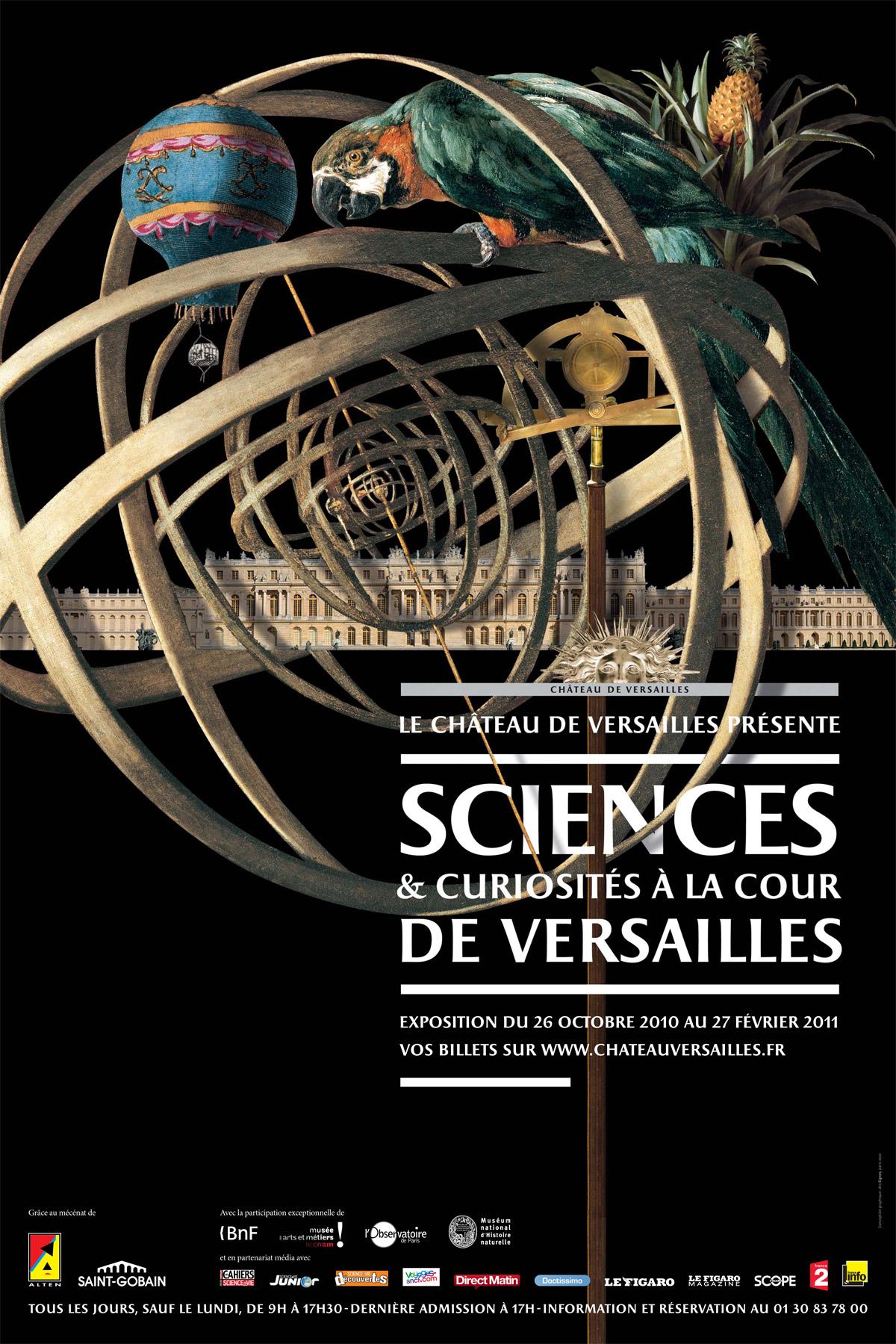 Sciences et curiosité à la Cour de Versailles