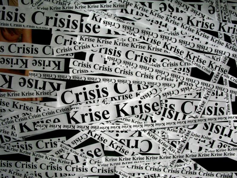 La « crise » : circulation et fiction