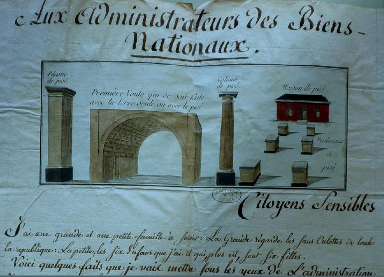"""""""Le Pise : Ô ma divine maîtresse !…"""". L'architecte François Cointeraux (1740-1830) et la poésie du Pise de Terre"""